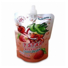 Bolsa de zumo de piña / Bolsa de zumo de fresa / Bolsa de zumo de bocadillo