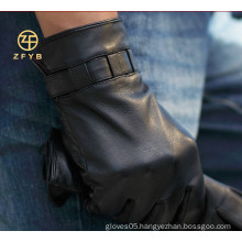 fashion trendy winter hand gloves motorcycle leather gloves