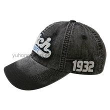 Gorra de béisbol lavada, sombrero hermoso de los deportes del Snapback