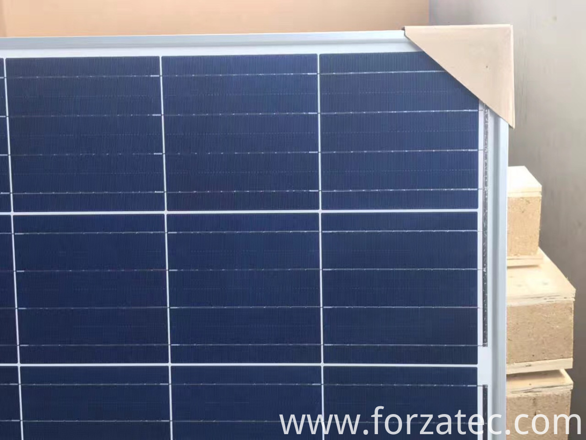 poly panel for solar light