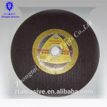 Высокое качество отрезать колесо для нержавеющей стали/металла /камня