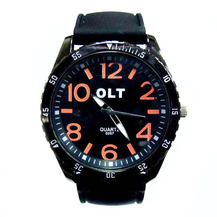 Hot Sale Business Men Silicone Wrist Watch Gifts