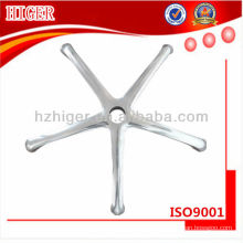 pièces de table de bâti d'aluminium, pièces de chaise d'aluminium, pièces de meubles