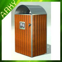 Garden Wooden Waste Bin
