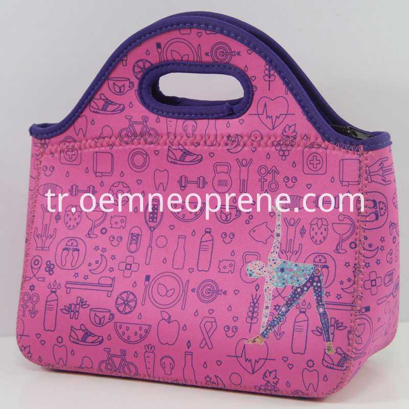 Lunch bag tote