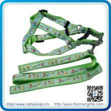 New Arrivel Custom Retractable Colorful Nylon Dog Collar and Leash