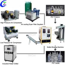 Vollautomatische PET-Plastikwasserflaschenmaschine