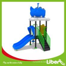 Niedriger Preis Kleine Outdoor Vorschule Spielplatz Spielzeug / Plastik Outdoor Spielplatz Spielzeug