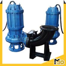 Bomba de agua residual sumergible con acoplamiento