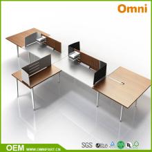 Table de meuble de bureau New Style Four Preson