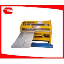Máquina de corte e corte de metal com folha cônica