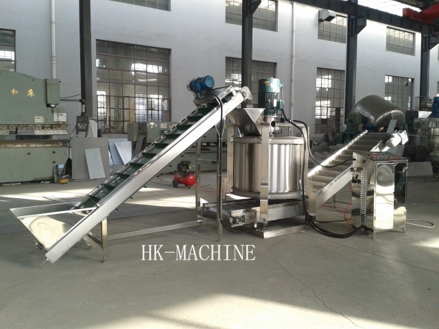 Stainless Continuous centrifugal dewatering machine