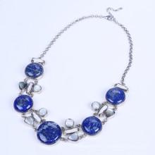 Neuer Entwurf Lapis Lazuli Legierungs-Halskette