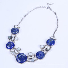 Nouvelle conception Lapis Lazuli Alloy Necklace