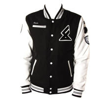 clothing manufacturer custom satin varsity jacket