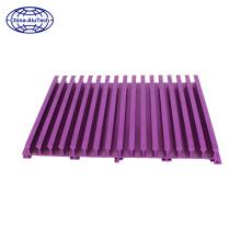 al6063 t5 aluminum extrusion heatsink aluminum radiator aluminum section manufacture