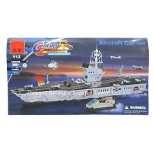 Ataque de la serie diseñador portaaviones 990PCS bloquea juguetes