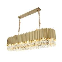 Modern Luxury Large Golden Hotel Lobby Decorative K9 Crystal Chandelier Lighting