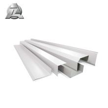 moulin finition Anodisation canal profilé en alliage d'aluminium