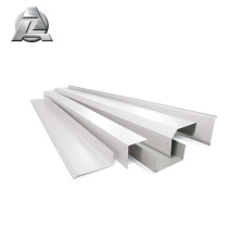 mill finish Anodizing powder coated aluminum alloy profile channel