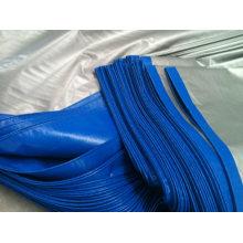 Blue/Silver Plastic Tarpaulin Cover