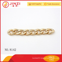 OEM custom fashion ring chain bag accessories metal chain