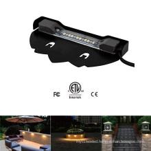 12V 2W/5W ETL Outdoor Waterproof LED Landscape Step Wall Light