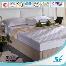Protector de colchón acolchado acolchado para el hotel