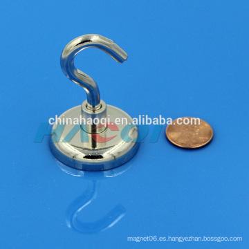 Ganchos de suspensión magnéticos de neodimio para trabajo pesado