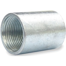 Galv. Half Steel Coupling