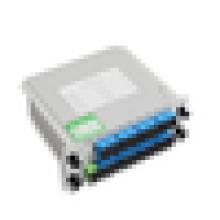 Ftth 1 * 2 1 * 4 1 * 8 1 * 16 1 * 32 separador de fibra óptica de cassete com conector sc lc a baixo preço