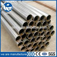 La venta caliente ASTM BS EN DIN JIS GB estándar de primera calidad negro tubo de acero