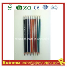 Triangle Strip Barrel Wooden Pencil