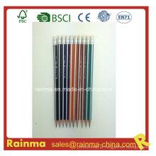 Lápis de madeira de barril de tira de triângulo