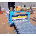 Máquina perfiladora de láminas de techo esmaltado de una sola hoja 840