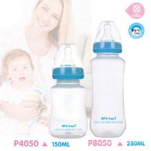 BPA gratis botella de bebé de la alimentación