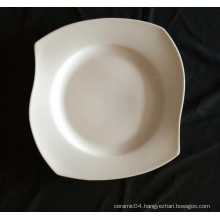 unique shape hotel plate in stock