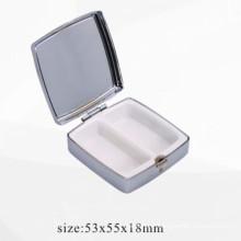 Boîte de pilule en métal inoxydable / Boîtier de rangement (BOX-24)