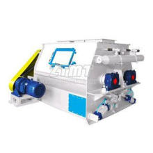 double shaft paddle mixer fertilizer High mixing speed mach