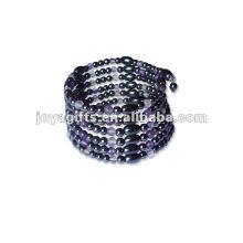 """Magnetische Amethyst Perlenverpackung Armbänder & Halskette 36 """""""