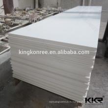 Acrylique de surface solide blanc pur pour les appuis de fenêtre