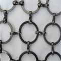 316L Stainless Steel Curtains Non-woven Ring Mesh