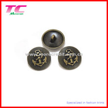 Fancy Coat Button for Garment, Black Coat Button