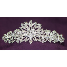Nouvelle conception Discount Shiny Crystal Bridal Crown Custom Tiara de mariage