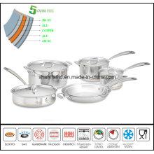 5ply Copper Core Body Cookware Set