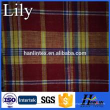 Tecidos tecidos tingidos 100% algodão e cvc