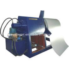 Uncoiler hidráulico de cinco toneladas