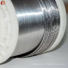 ASTMF2063 mémoire de forme soutien-gorge nitinol mémoire fil