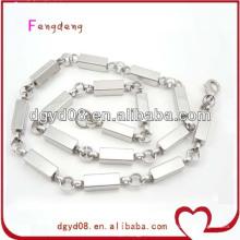 Cadena de collar de acero inoxidable para hombres