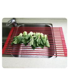 Rejilla de secado enrollable resistente al calor de espacio libre